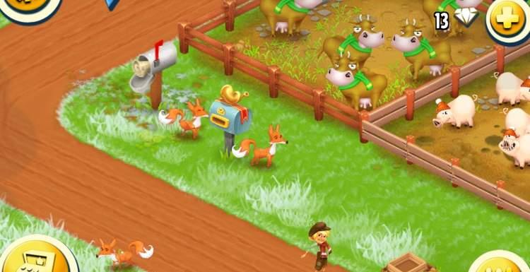 Как поймать лису в Hay Day?