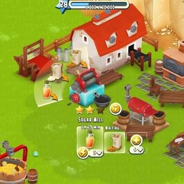 Как работают улучшения зданий в Hay Day?