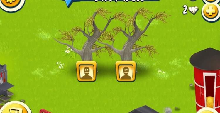 Как работают Деревья и Кустарники в Hay Day?