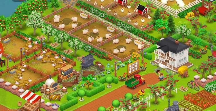 Красивые фермы в hay day