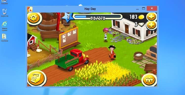 Как установить hay day на компьютер?